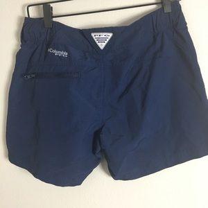 Columbia PFG shorts Blue Size Small